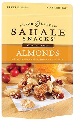 Sahale Snacks' Almonds with Cranberries, Honey + Sea Salt