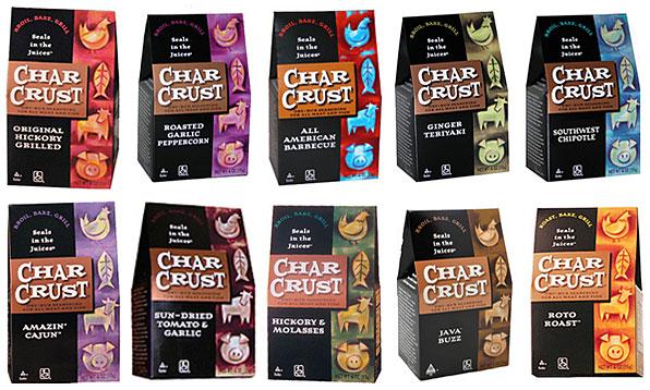 Char Crust Dry Rubs