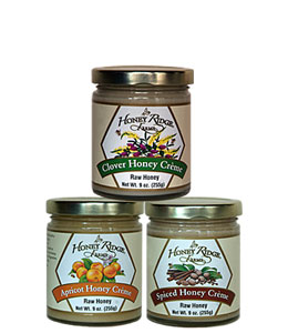 Honey Ridge Farms Raw Clover Honey Cremes