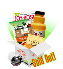 Summer 2014 Kosher Foodie Box
